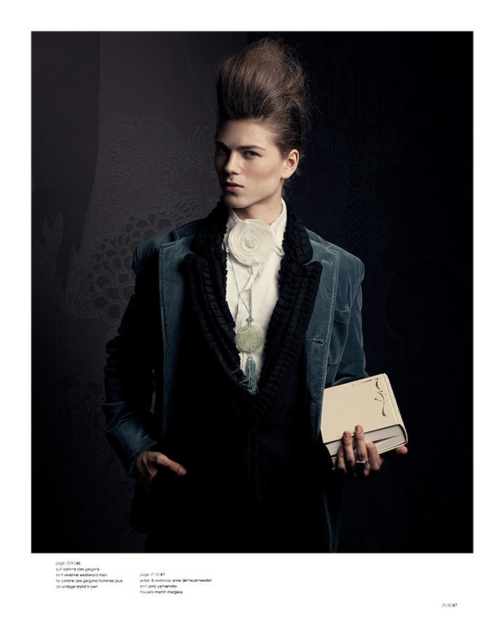 The Rakes' Progess by Richard Pier Petit for And Men Fall/Winter 2010