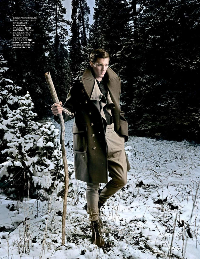 Tyler Riggs & Stan Jouk by Gulliver Theis for GQ Russia December 2010