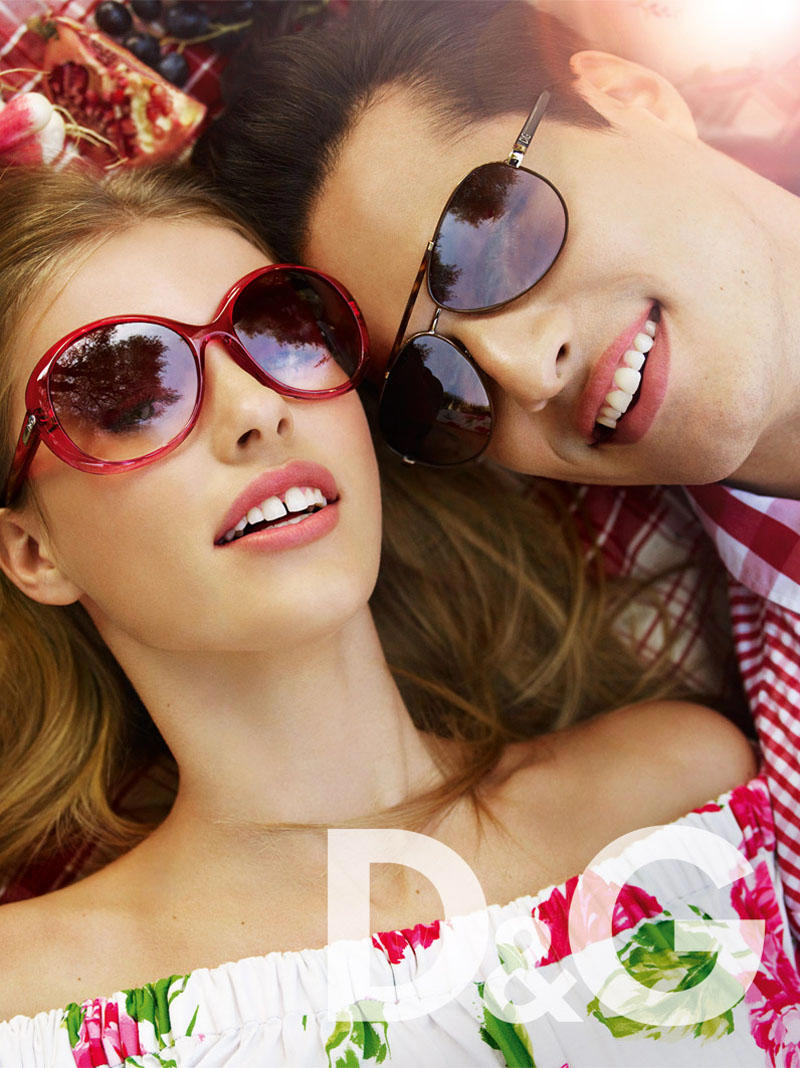 D&G Spring 2011 Campaign by Mario Testino