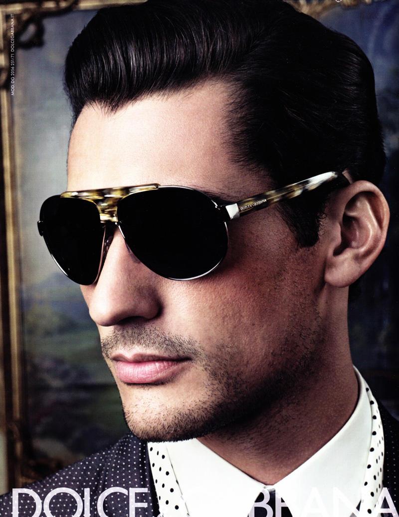 David Gandy for Dolce & Gabbana Spring 2009 Eyewear Campaign