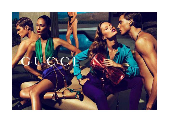 Gucci Spring 2011 Campaign   Nikola Jovanovic & Gen Huismans by Mert & Marcus