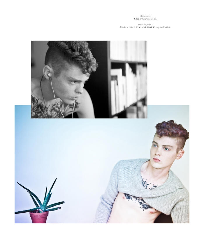 Jules Hamilton & Shane Gambill by Christopher Starbody in Kids for FutureClaw