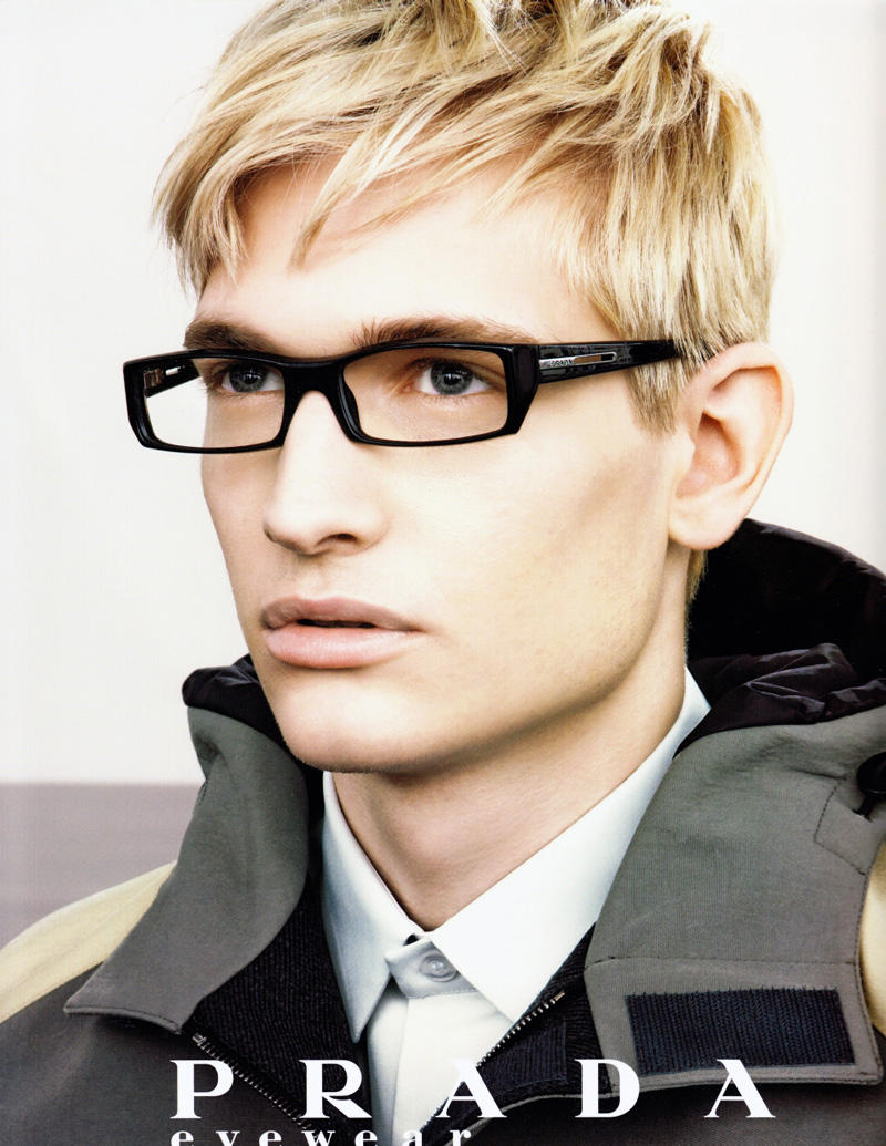 Nick Snider for Prada Fall 2007 Eyewear Campaign