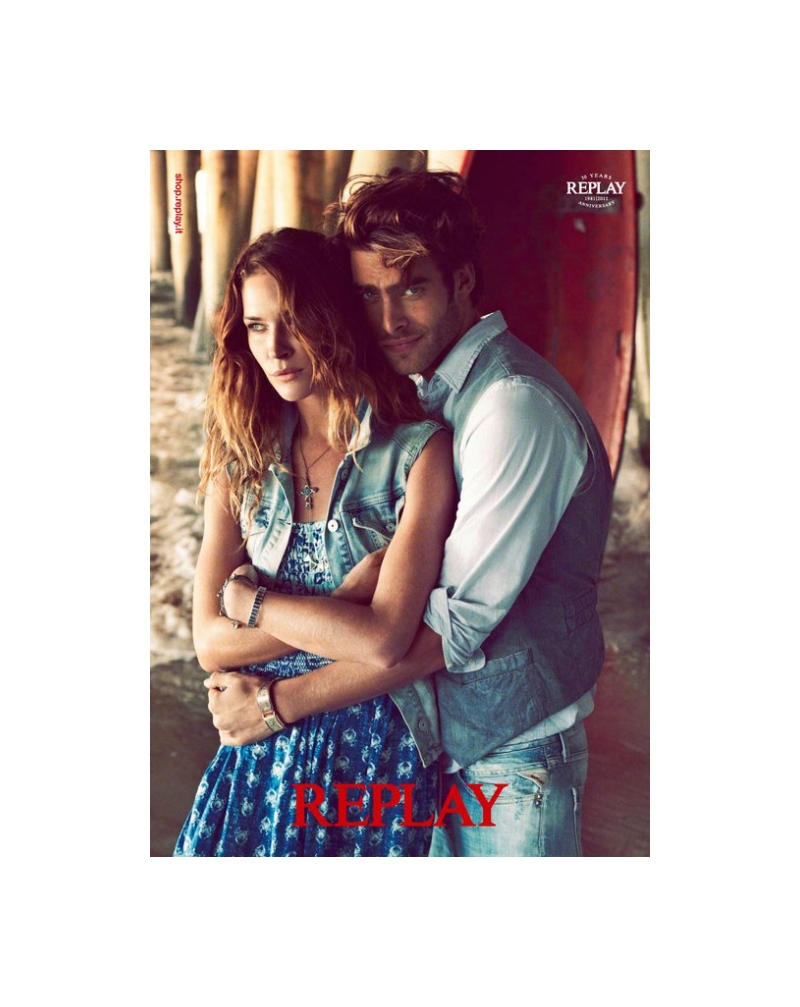 Replay Spring 2011 Campaign | Jon Kortajarena & Texas Olsson by Chad Pitman