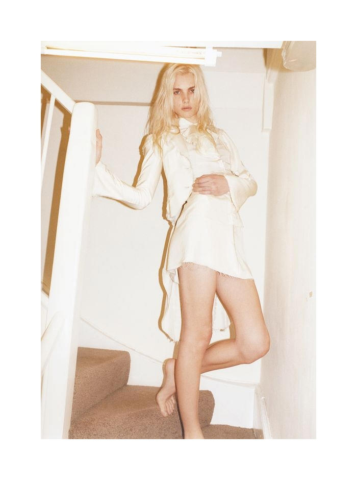 Andrej Pejic seduces the lens of Juergen Teller for a provocative story in Zeit magazine.
