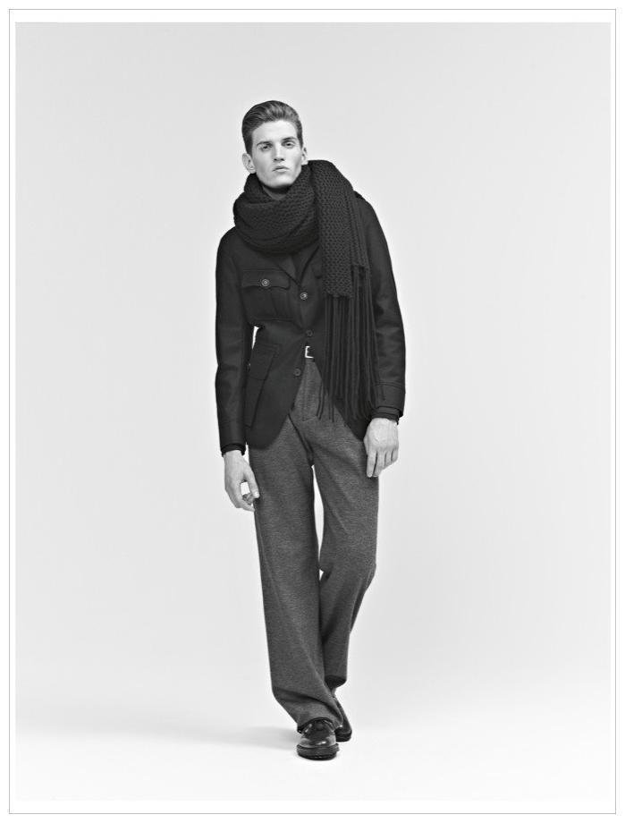 Andre Feulner by Koray Birand for Baldessarini Fall/Winter 2011