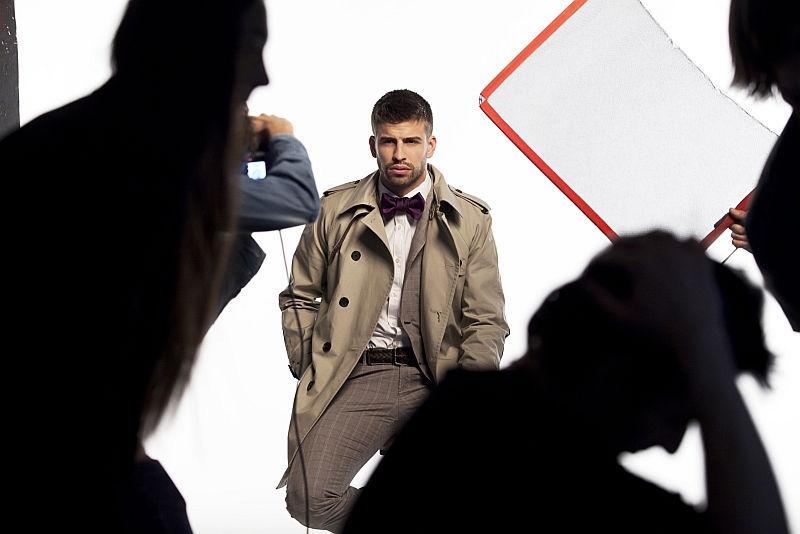 Gerard Piqué for H.E. by Mango Spring 2011 Campaign