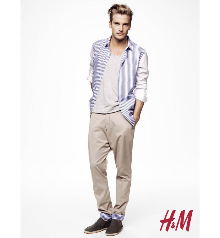 Jakob Hedberg for H&M Spring 2011 Campaign