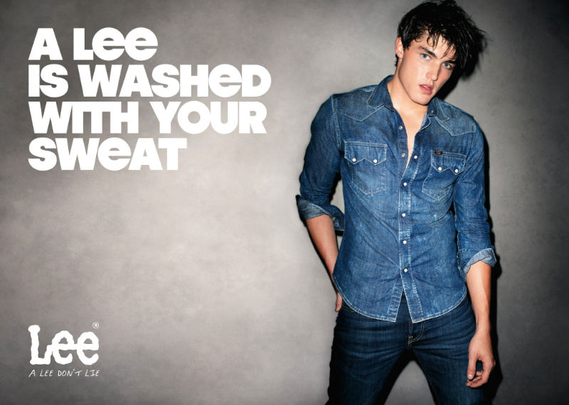Andre Van Noord & Isaac Weber by Terry Richardson for Lee Spring 2011 Campaign
