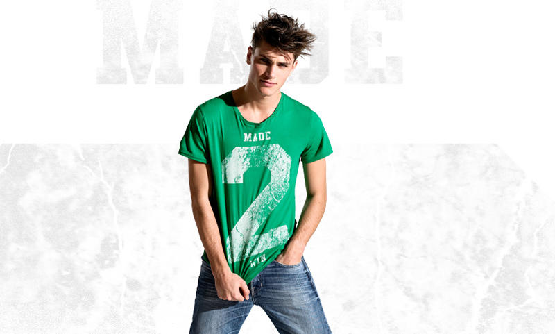 Oscar Spendrup & André Bentzer by Andreas Kock for H&M T-Shirt Talks Spring 2011 Campaign