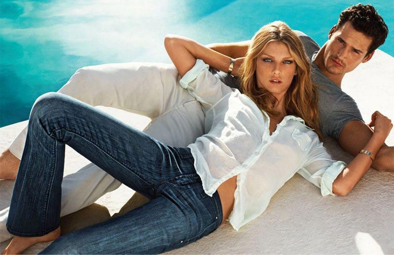Sam Webb for 7 For All Mankind Spring 2011 Campaign