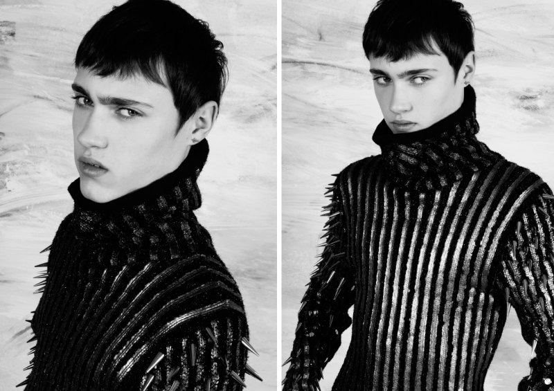 Here Come the Boys Part I by Damon Baker for The Fashionisto