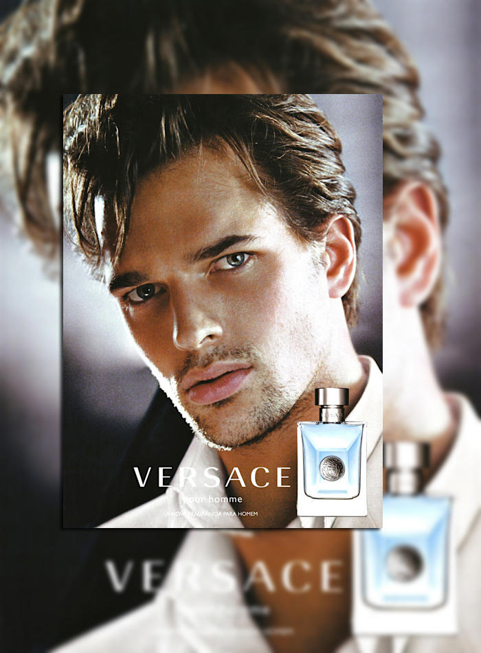 Michael Gstoettner by Mario Testino for Versace Fragrance Campaign
