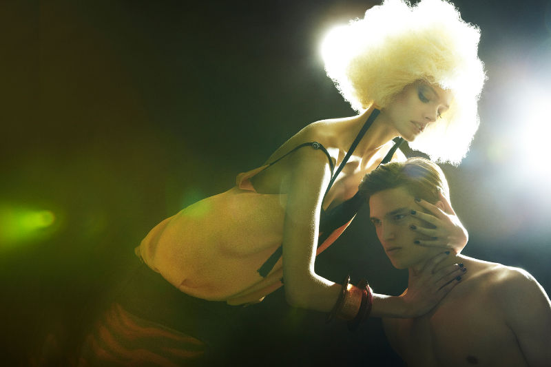 Jules Hamilton & Adam Miller by David Byun for W Korea