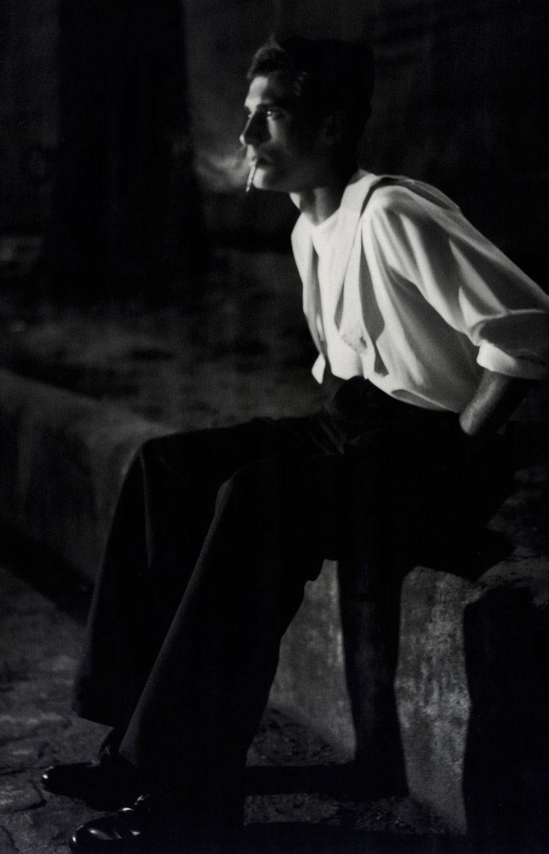 Clément Chabernaud by Glen Luchford for Vogue Hommes International