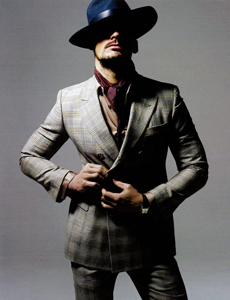 David Gandy by Ram Shergill for ShortList Mode
