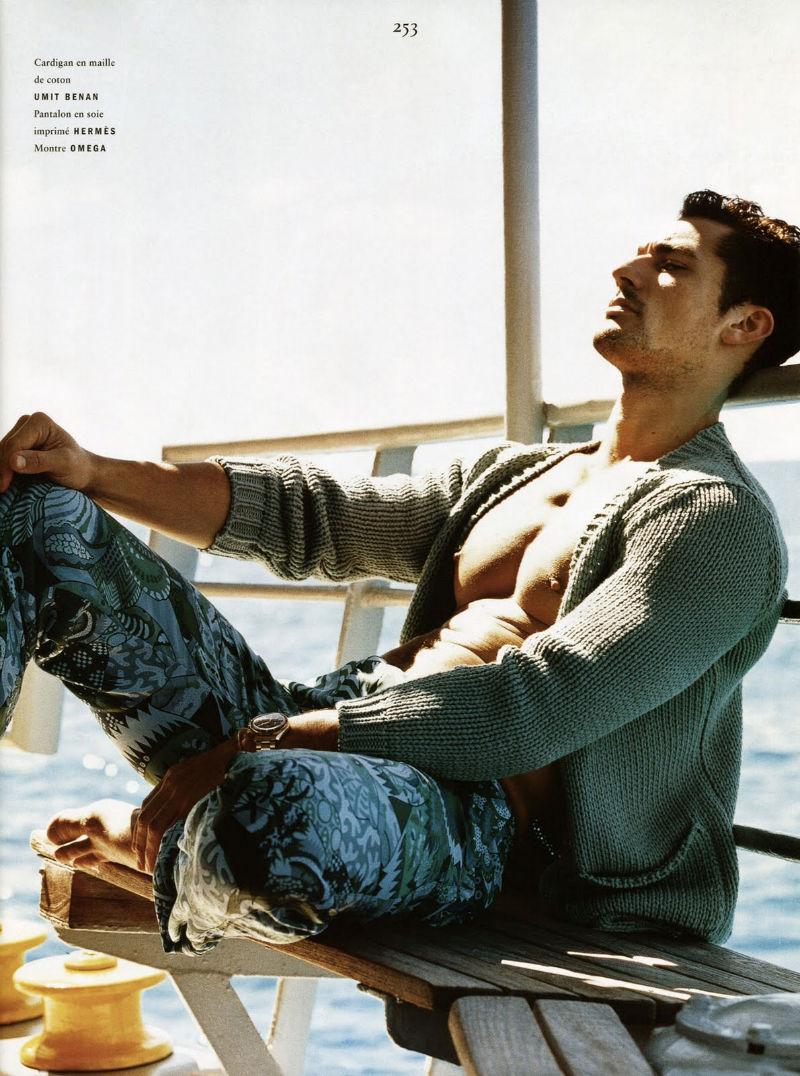 David Gandy by Jack Pierson for Vogue Hommes International