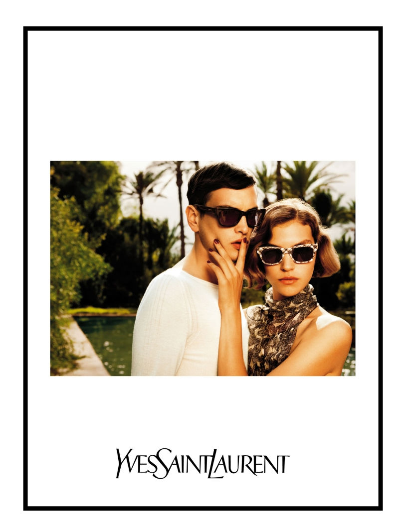 Yves Saint Laurent Spring 2011 Campaign | Will Westall by Inez & Vinoodh