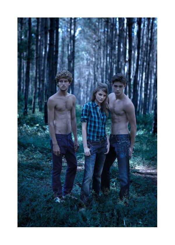 Francisco Lachowski & Max Motta for 2nd Floor | Fall 2010 Campaign/Lookbook