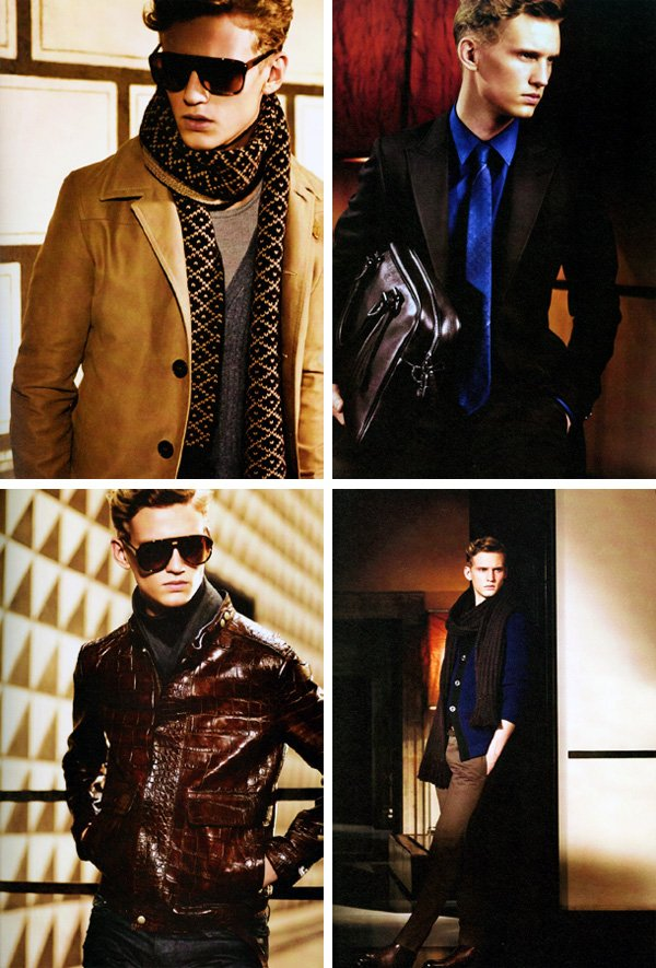 Alexander Johansson for Gucci Fall 2010 Preview