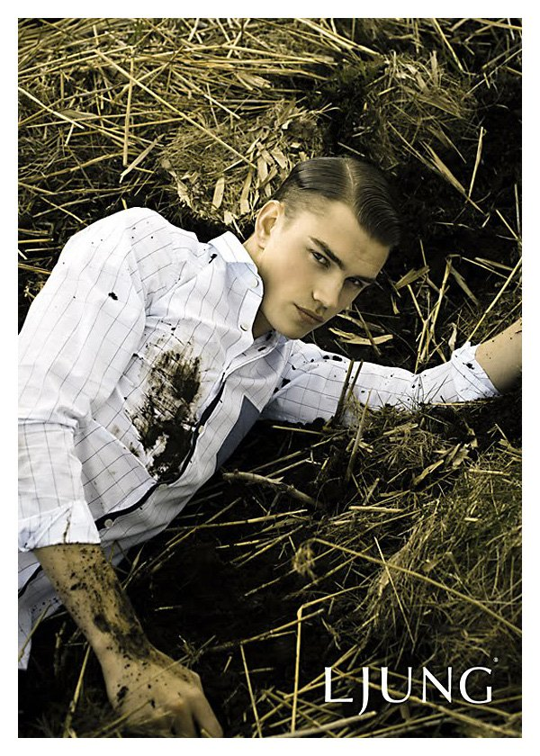 André Bentzer by Olof Händén for Ljung Fall 2010 Campaign