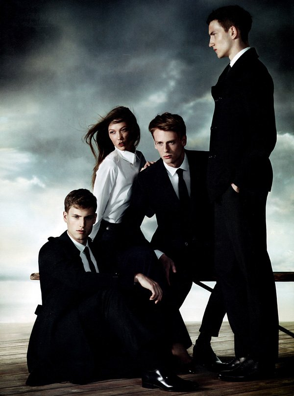 Jacob Coupe, Matt Benstead & Tristan Knights by Willy Vanderperre for Aquascutum Fall 2010 Campaign