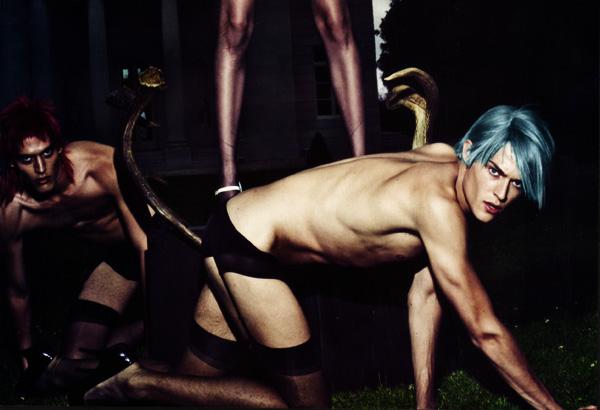 Cesar Casier by Steven Klein for Vogue Paris