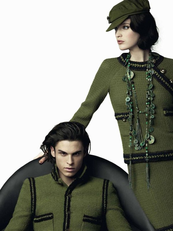 Baptiste Giabiconi by Karl Lagerfeld for Chanel Pre-Fall 2010 Campaign