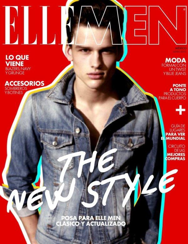Simon Nessman by San Sierra for Elle Men Mexico