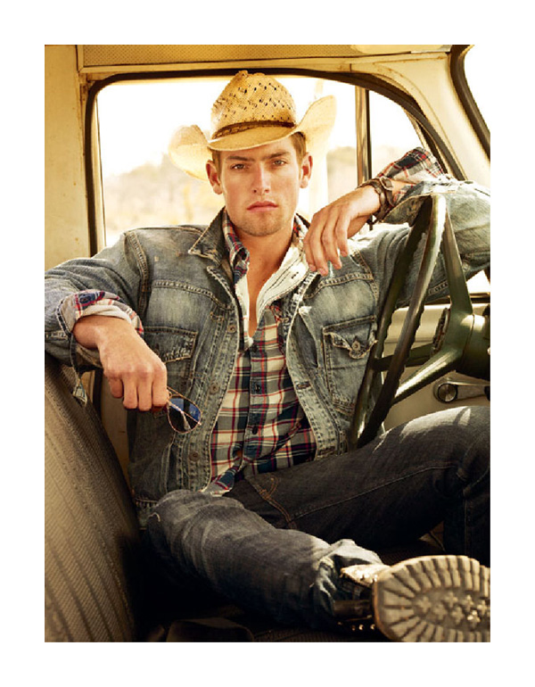 Justin Hopwood by Mark Seliger for Polo Jeans Fall 2010 Campaign