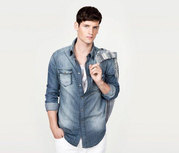 Lucien Thomkins for Zara June Lookbook