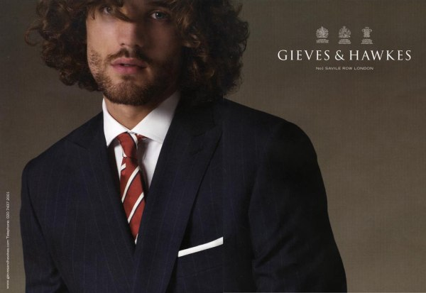 Max Rogers for Gieves & Hawkes | Spring 2010 Campaign