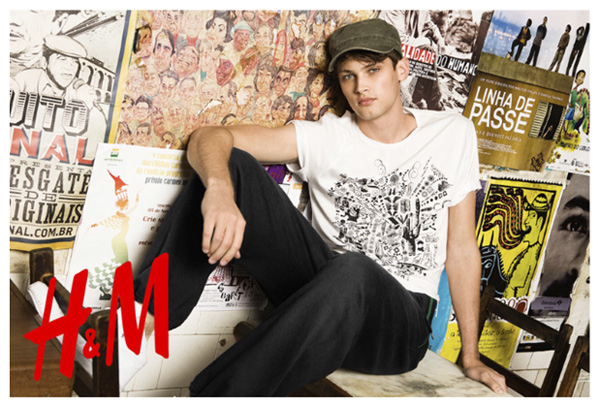 Model of the Month | Taylor Fuchs--Revisiting H&M Spring 2009 Campaign by David Roemer